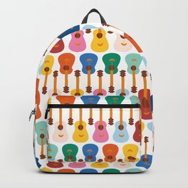 Colorful Guitars Backpack