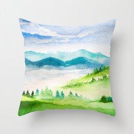 Spring Scenery #10 Throw Pillow