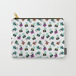 Photography Cameras Pattern Carry-All Pouch