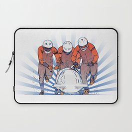 Cool Runnings - Bobsleigh 4 men team Laptop Sleeve