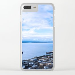 On a Clear Day, You Can See Forever Clear iPhone Case