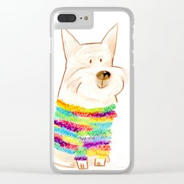 westie one Clear iPhone Case
