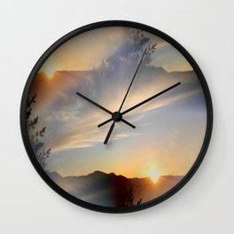 The Land of Two Suns... Wall Clock