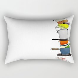 ...or Why I Don't Cook Rectangular Pillow