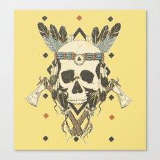 DEAD INJUN Canvas Print