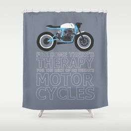 motorcycles Shower Curtain