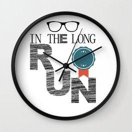 in the long run Wall Clock