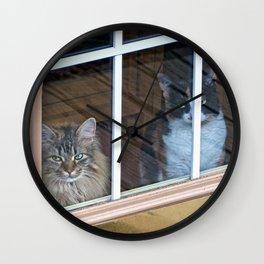 The Evil Eyes Wall Clock