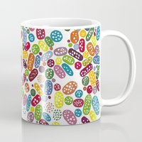 pills Mugs featuring Pills by Eleacuareling