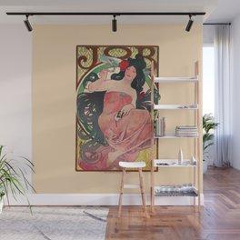 Alphonse Mucha Job Rolling Papers Art Nouveau Woman Wall Mural
