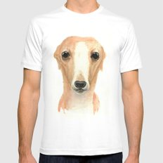 Rex SMALL Mens Fitted Tee White