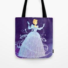 Disney's Cinderella in Purple Tote Bag