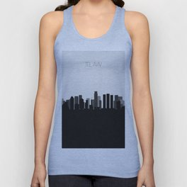 City Skylines: Tel Aviv Unisex Tank Top