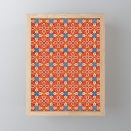 Moroccan Motet Pattern Framed Mini Art Print