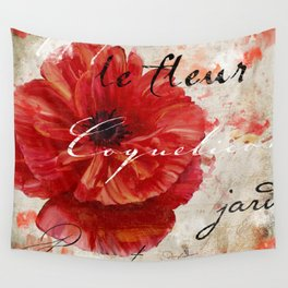 Le Pavot I Wall Tapestry