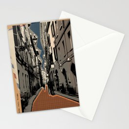 Parma -vintage post card Stationery Cards