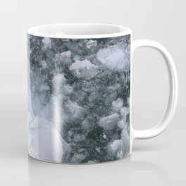 Ice And Snow Abstract Art By Nature Coffee Mug