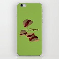 Les Chapeaux iPhone & iPod Skin
