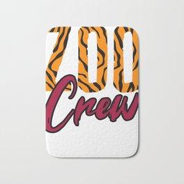 Zoo Crew Animal-lover Bath Mat