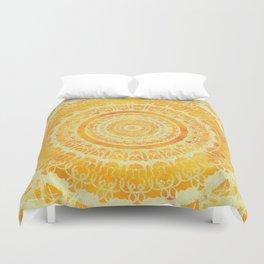 Sun Mandala 4 Duvet Cover