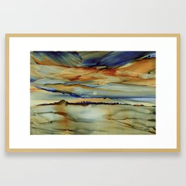 Evening #28 Framed Art Print