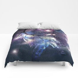 Cosmic Dreamcatcher design Comforters