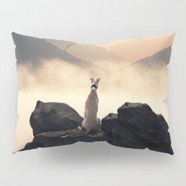 Sunset of a greyhound Pillow Sham