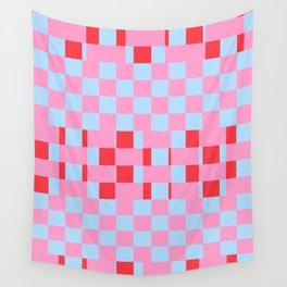 Pink Weave Wall Tapestry