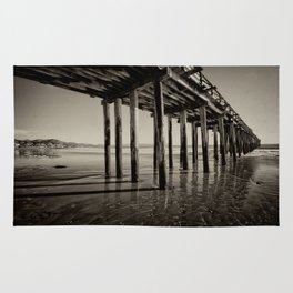The pier at Cayucos Rug