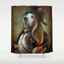 Napoleon Boneaparte Shower Curtain