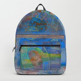 Mid-To-Late Century Blues Backpack