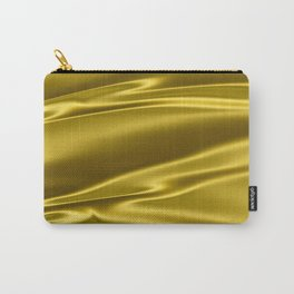 Gold satin texture Carry-All Pouch