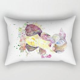 Thumper With Flowers Rectangular Pillow