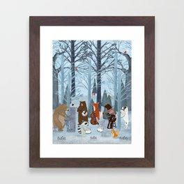 little nature symphony Framed Art Print