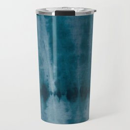 Tye Dye Denim Travel Mug