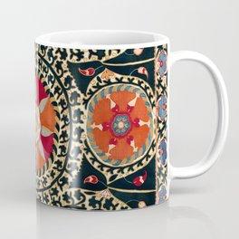Katti Kurgan Suzani Uzbekistan Embroidery Print Coffee Mug