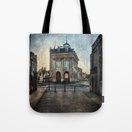 The Town Hall At Abingdon Tote Bag