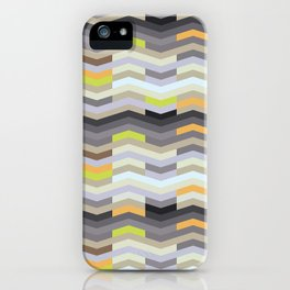 Modern Chevron - Fresh Green iPhone Case