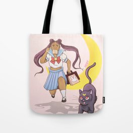 Running Late Tote Bag
