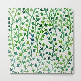 Summer Ivy Metal Print