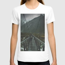 Hiking around the Mountains & Valleys of New Zealand T-shirt