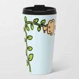 Puppy and beanstalk Travel Mug