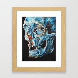 Skull II. Framed Art Print