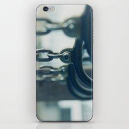 Playground Blues iPhone Skin
