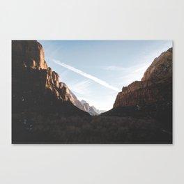 Zion 1. Canvas Print