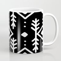 nordic Mugs featuring BLACK NORDIC by Nika