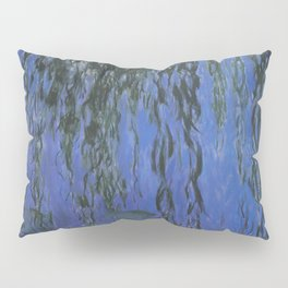 Water Lilies and Weeping Willow Branches by Claude Monet Pillow Sham