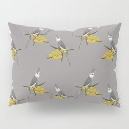 White Faced Cockatiel Pillow Sham