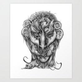 All Hail the Rat King Art Print