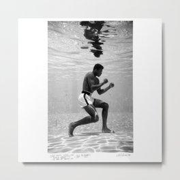 Boxing Legend - Cassius Marcellus Clay Jr - BLM - Black - Power - Muhammad - The Greatest - Ali 76 Metal Print